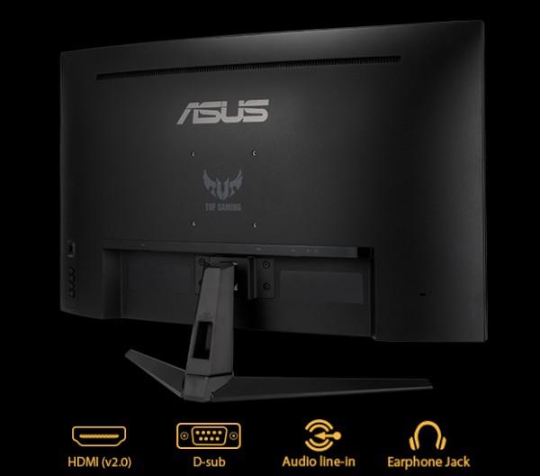ASUS 80,0cm GAMING TUF VG328H1B DP+HDMI FHD 165Hz Curved 1ms